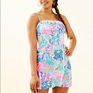Lilly Pulitzer Dresses - Jesse Romper In Multi Pop Up Summer Remix Patch 12